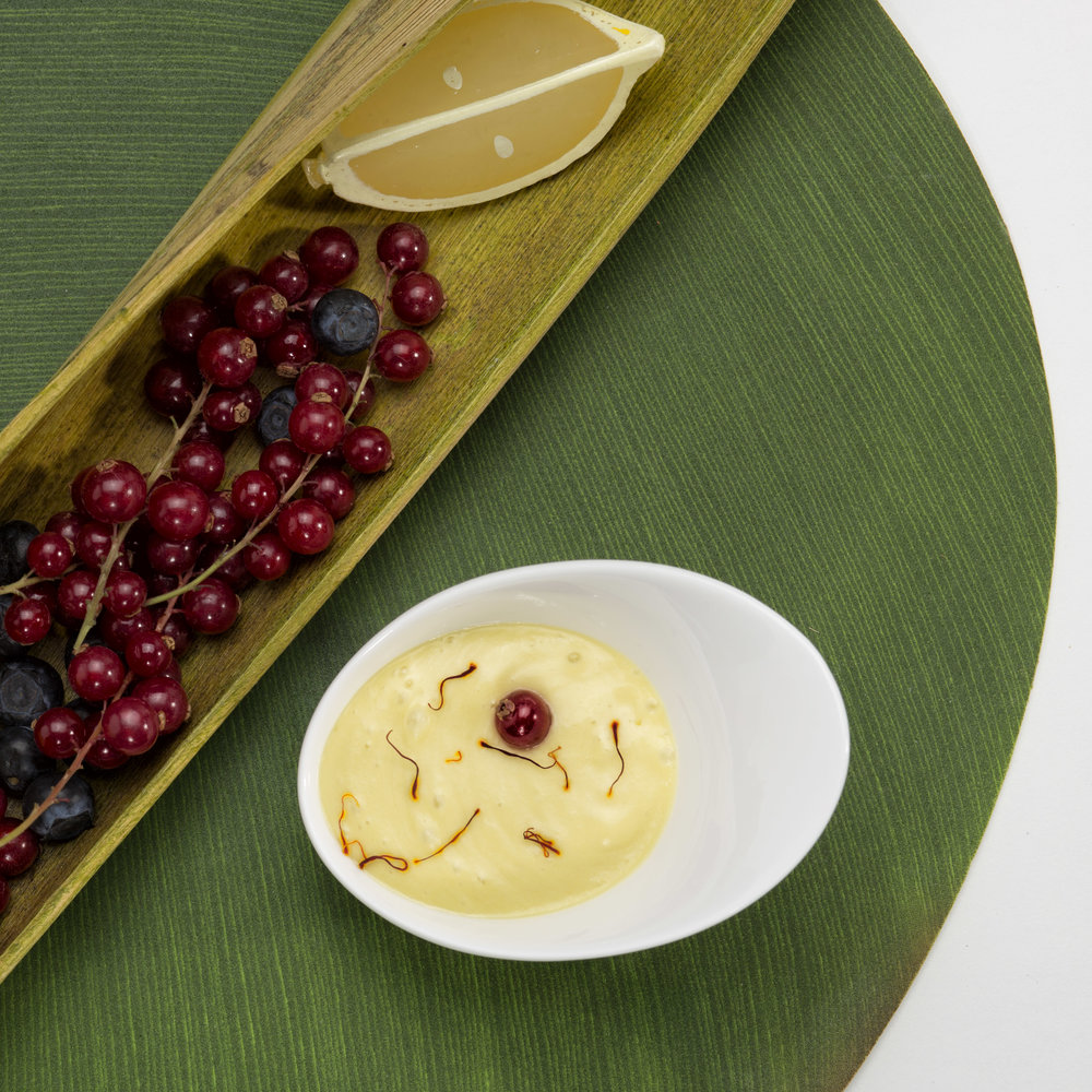 Smoothie de mangues au lait de coco et au safran -du Chef Laurent Coutantic pour QVC © K. Mezroua