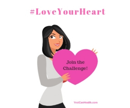 #LoveYourHeart 4-Week Challenge - Starts February 1, 2018