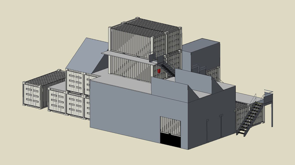 3D modelling of layout concepts for discussion