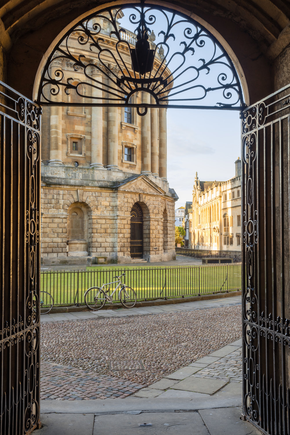 Radcliffe Camera from Bodleian Library Arch.jpg