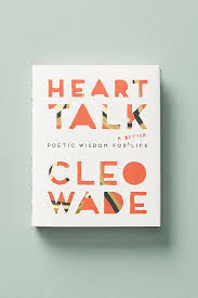 Heart Talk by Cleo Wade - A beautifully written and illustrated walk through Cleo's perspective on and experience in life, love, forgiveness, and the human experience. Normally, I self-help books are not my go-to genre, but the authenticity behind this one stands out. I've revisited the many times after my initial read, and each affirmation hits differently and sometimes even more effectively as I've gone through different situations in life. Wade's words show readers that we're not alone on our life journey and that sometimes the messiness of it all can be the best part; more importantly, an opportunity learn.