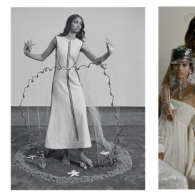 Editorial inspirador via @voguebrasil : Vestido @osklen . #VesteRio #Vogue #Moda #Fashion #Inspiração #Tendencia #Trend #Look #LookDoDia #Osklen  Foto: Zee Nunes