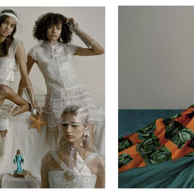 Editorial inspirador via @voguebrasil : Vestidos, capas, chapéu, bonés, luvas e bijoux @Chanel . #VesteRio #Vogue #Moda #Fashion #Inspiração #Tendencia #Trend #Look #LookDoDia #Chanel  Foto: Zee Nunes