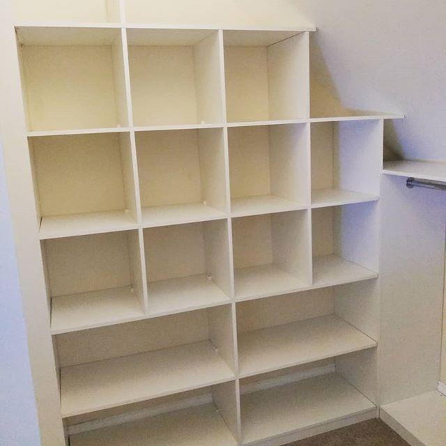 Shelvis has left the building.  #shelving #storage #storagesolutions #walkinwardrobe #dressingroom #carpentry #joinery #bespoke #storagespace