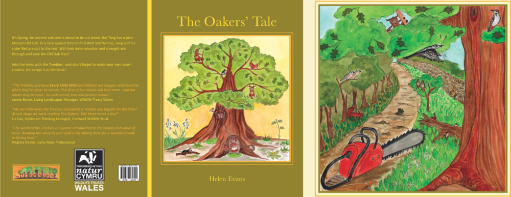 The Oakers' Tale:  The Spring instalment of the Treebies  Published:  Summer 2018  Donation:  50p from each sale to The Woodland Trust  For Sale:  September 2018