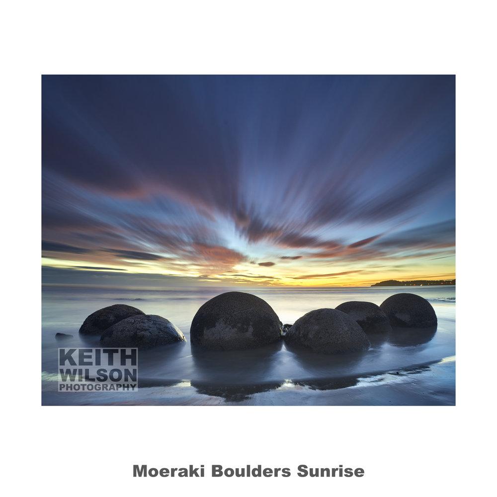 Moeraki Boulders Sunrise