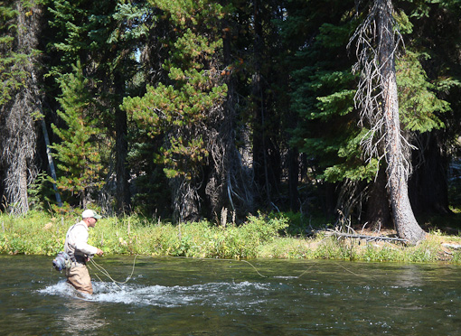 Fishing on the Upper Deschutes