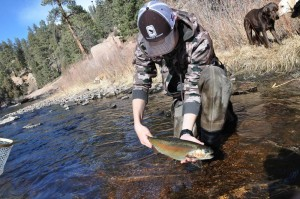 Trout's South Platte fishing trip
