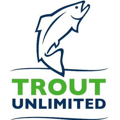 National Trout Unlimited's current logo.