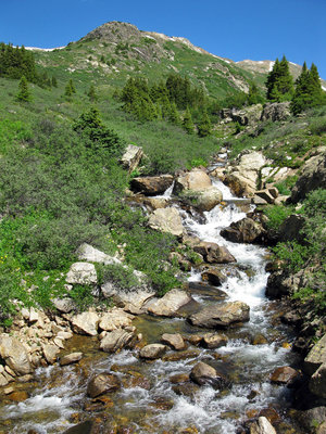 Headwaters of the Roaring Fork River.  Wikimedia Commons