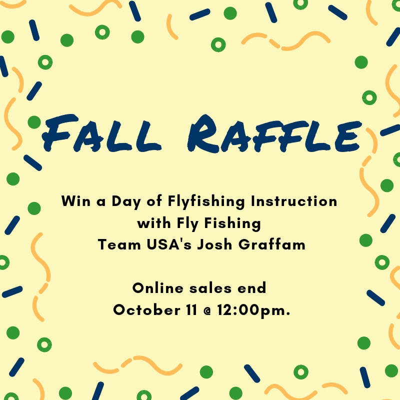 Fall Raffle Win A Day Of Instruction With Fly Fishing Team Usas