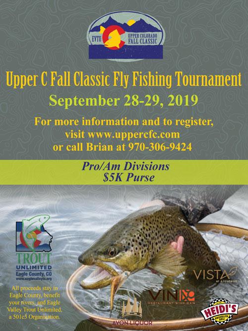 Upper C Fall Classic - PRO-AM FLY FISHING TOURNAMENT — Colorado