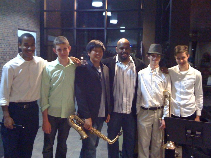 After performing for Christian McBride, 2009