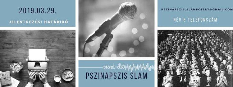 23. Pszinapszis Slam Poetry