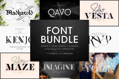 Typography & Fonts — ANTHONY JAMES