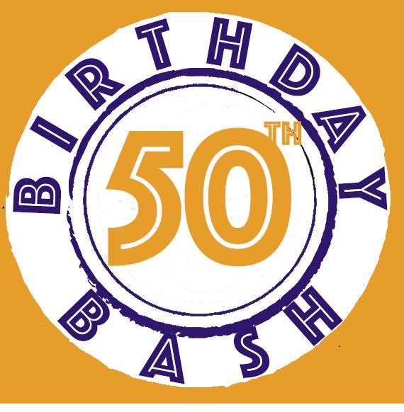 50th birthday bash
