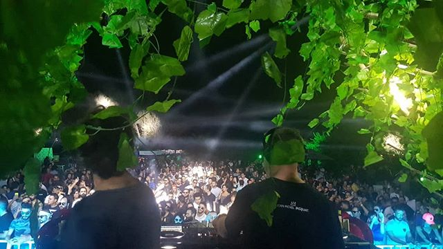 Vibes at The Soundgarden Cairo right now with my bro @djhernancattaneo