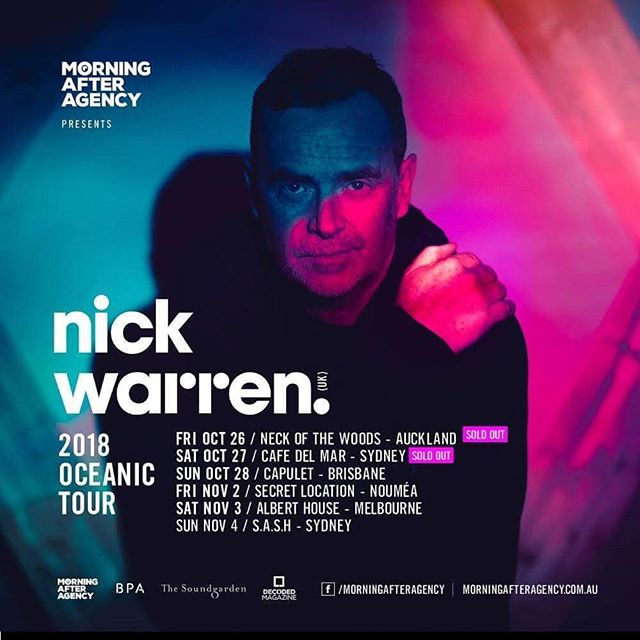 Can't wait to head Down Under next week with the Morning After. The first two show are already sold out. #Oz #MorningAfterAgency