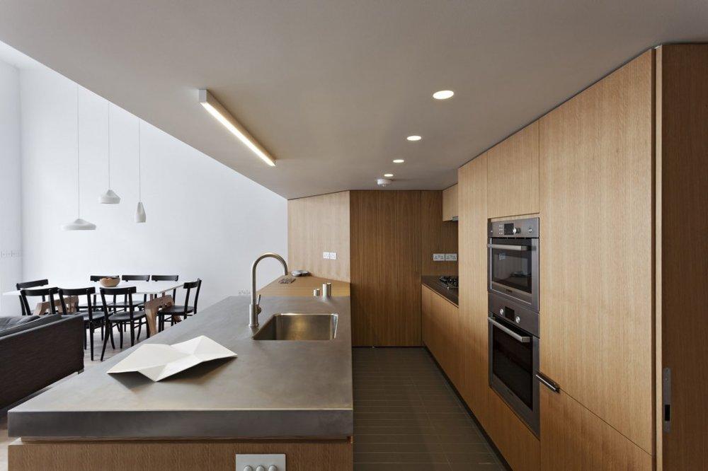 split level loft -