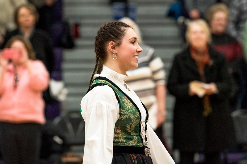 Stoughton High School Norwegian Dancers