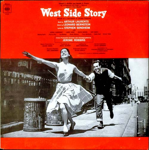 Original Broadway Cast Album, 1957. Columbia Records.
