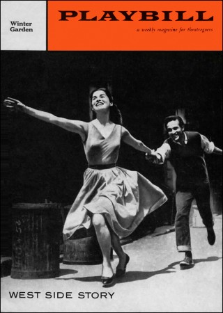 West Side Story Playbill, 1958. Courtesy of the Playbill Vault.