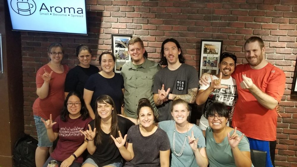 Deaf Ministry - The Mid-Atlantic District Deaf Ministry strives to reach the Deaf and Hard of Hearing people group with the gospel message, and to equip, empower, and strengthen Deaf churches and ministries throughout the Mid-Atlantic District.Bruce Persons is the Pastor of Deaf Ministries for our district. Please contact him at bruce.persons@thetablecma.org.Learn More