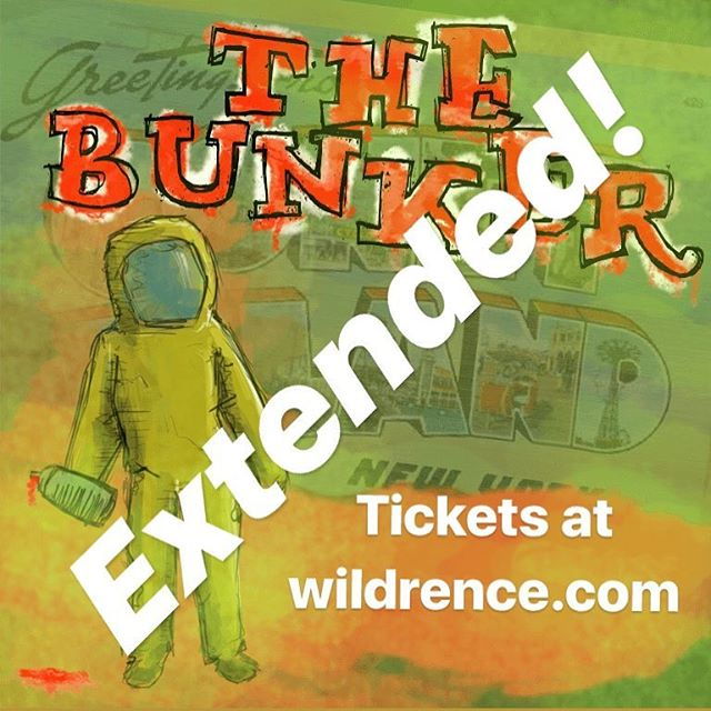 New performances of The Bunker on sale now.  Tickets at Wildrence.com @wildrence #immersivetheatre #immersivetheater #megagame #scifi #postapocalyptic #chooseyourownadventure #interactivetheatre #interactivetheater