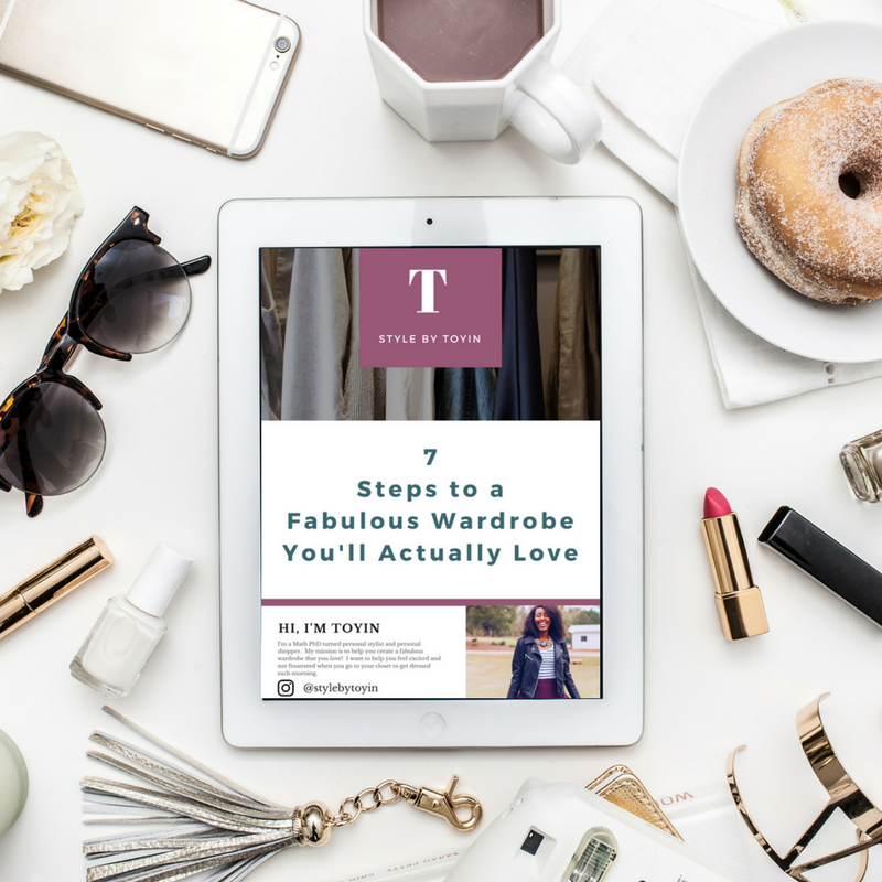How to Use your Goals to Discover your Adult style, wardrobe guide, Style by Toyin, personal style for professional millennial women