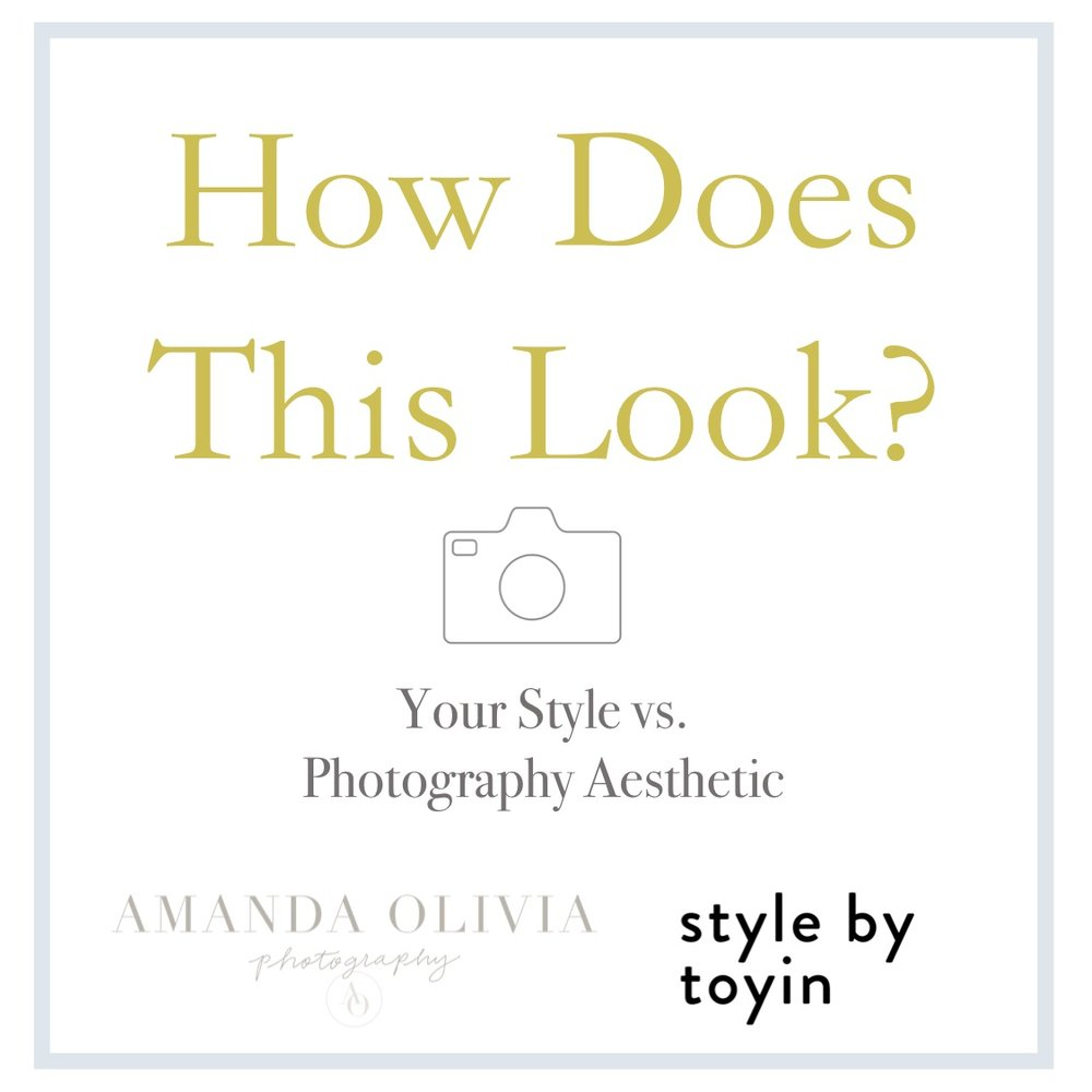 What to Wear for a Photoshoot:  Your style v. your photographer's aesthetic