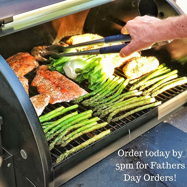 Father's Day is right around the corner. If you are looking for some great grilling items for next Sunday be sure to check out the products we carry from @campfirefarms @yakobifish & @cattailcreeklamb. The order deadline for a delivery next week is today at 5pm.  #fathersday #fathersdaygifts #pdxeats #pdxnow #pdxeater #grilling #reddonsalmon #bcorp