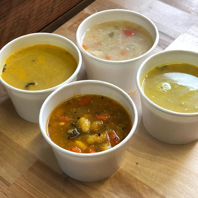 It's lunch time!  The clouds are back and the soup is warm. Stop by the lunch counter for a cup of soup, or select from our seasonal salads, sandwiches, and smoothies. Open until 2p!  1140 SE 7th Ave Suite 160 Portland, OR 97214  #whatsforlunch #soup #pdxsoup #pdxeats #pdxnow #eaterpdx #bcorp