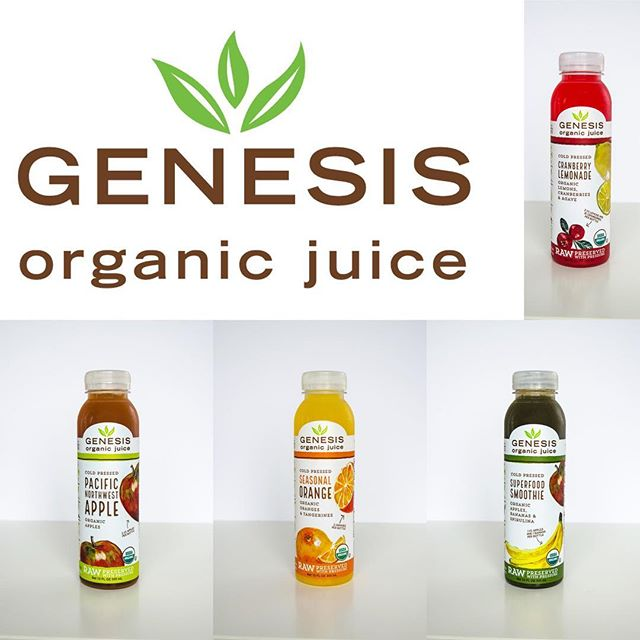 New menu items for home delivery and lunch counter!  We are excited to partner with @genesisjuice out of Eugene. Beginning next week we will carry their raw and organic juices, smoothies, and teas. Be sure to check out the menu to see if we have your favorites.  #raw #organic #juice #homedelivery #vegan #whatsforlunch #bcorp #reddonsalmon #pdxnow #corvallisoregon