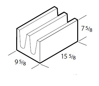 10 Inch Closed Bottom Bond Beam