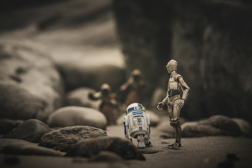 """Hurry Artoo!"""