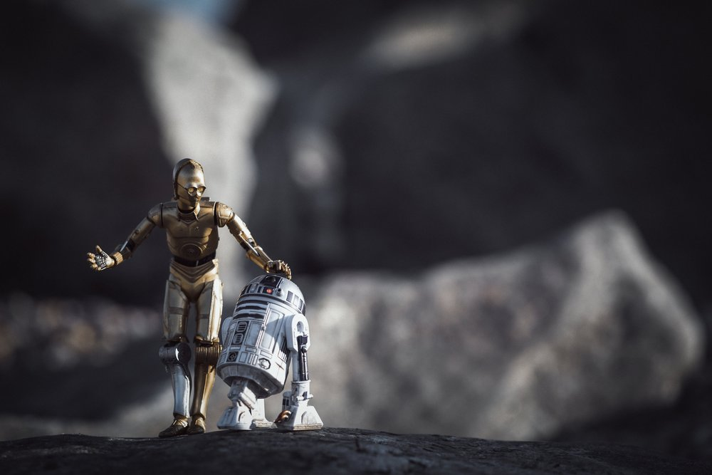 """Please Artoo, no more adventures..."""