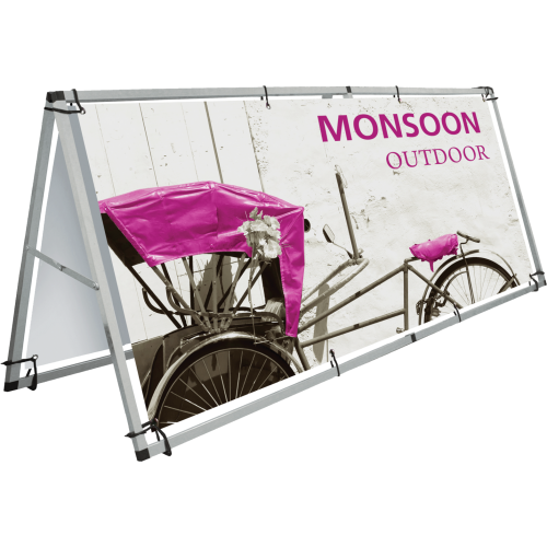 2-SIDED OUTDOOR STAND