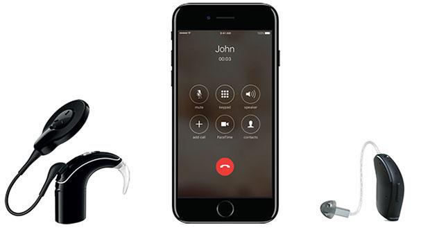 Slusni aparati ReSound in polzevi vsadki Cochlear povezljivost specialist ORL