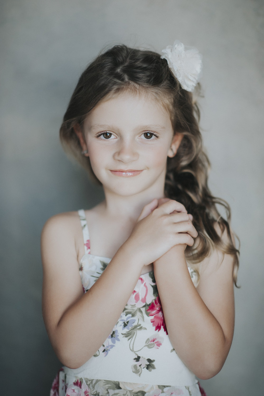 Child Portraits - $75 - This session includes 3 edited high resolution digital images with print release. Two background changes, one dark and one light background.