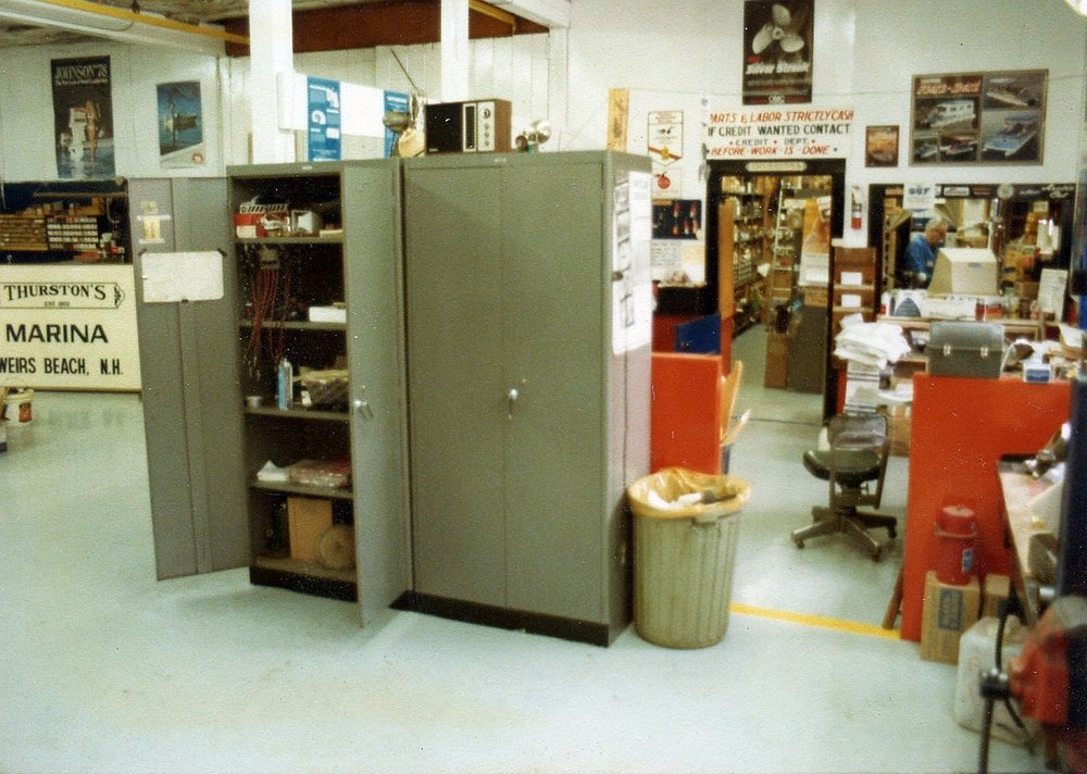 1978 Shop with the Parts Room