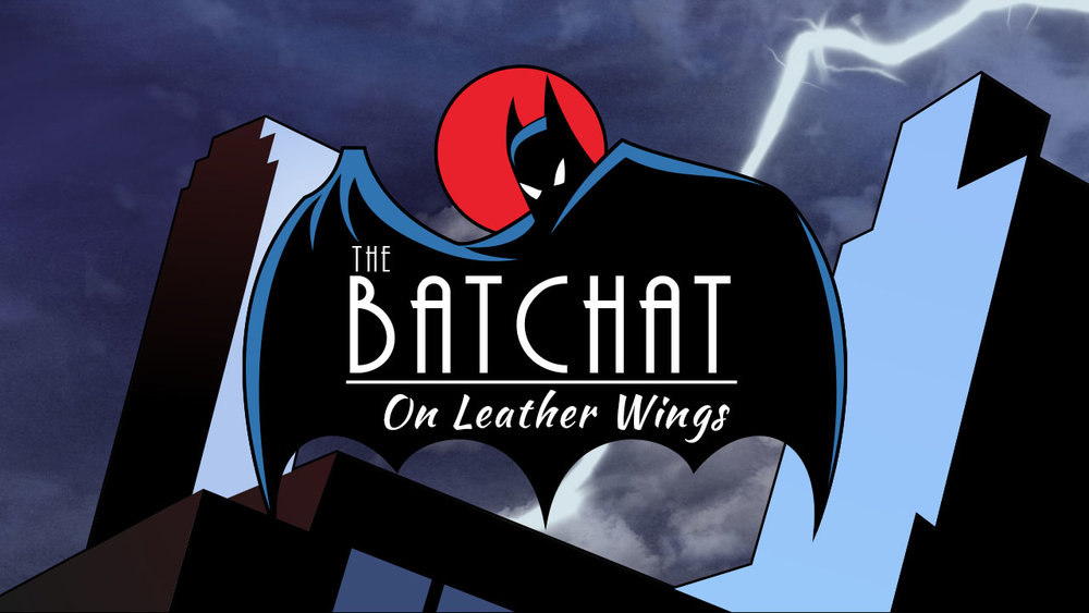 Batchat - Geekvolution - Title card for the 'Bat Chat' video series