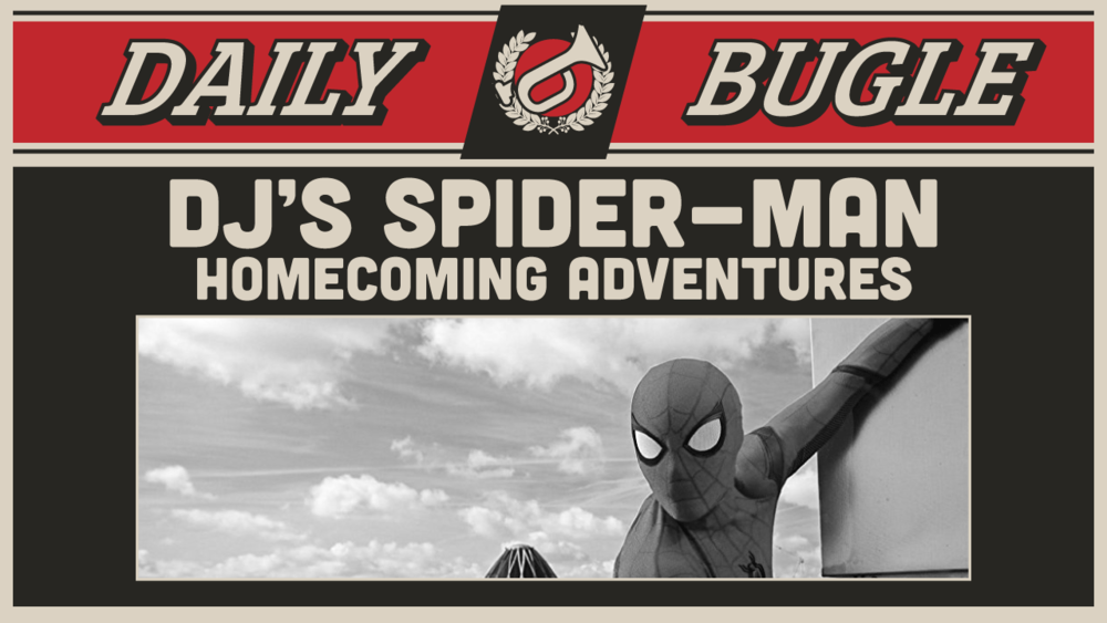 DJ's Homecoming Adventures - Title card for a one-time video