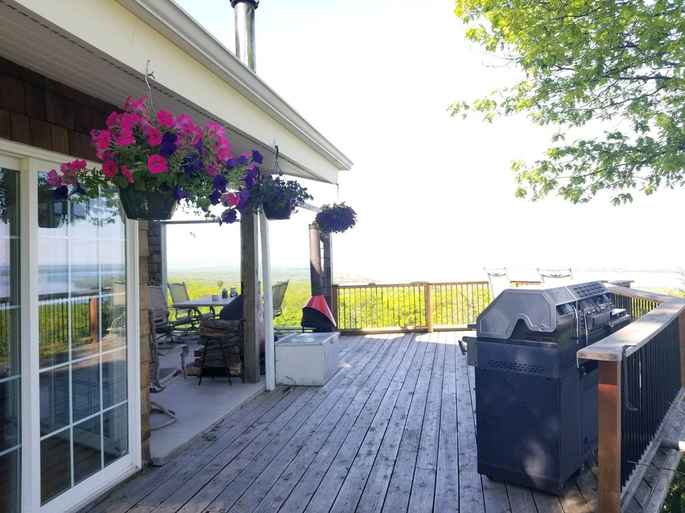 Open Air Places - The Wright House Bayfield WI Vacation Rental Houses