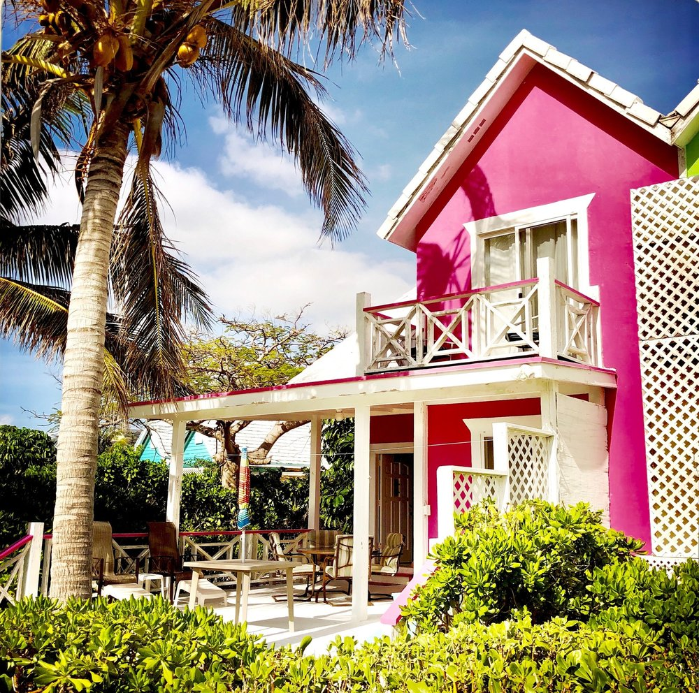 Open Air Places - Lilac Cottage at Diamonds by the Sea Unique Vacation Rentals on Grand Bahama Island