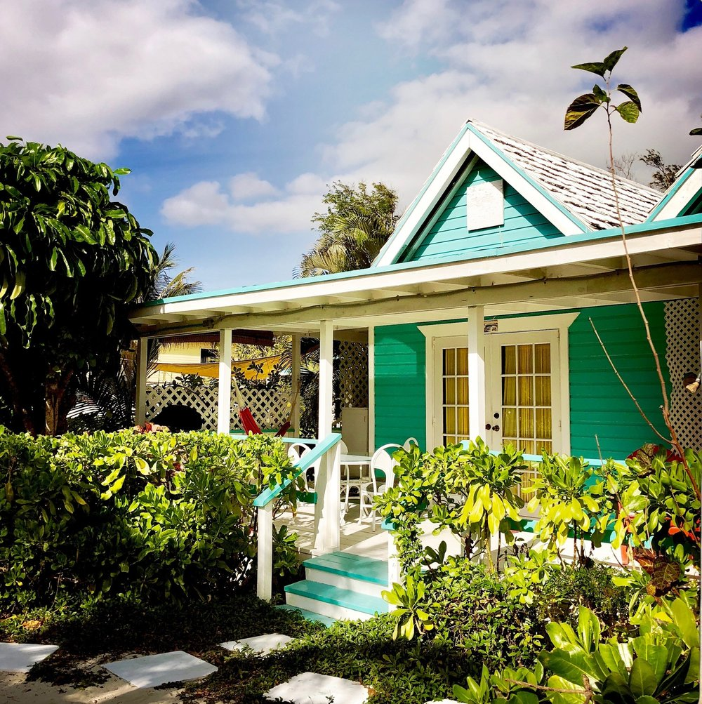 Open Air Places - Topaz Cottage at Diamonds by the Sea Unique Vacation Rental Houses on Grand Bahama Island