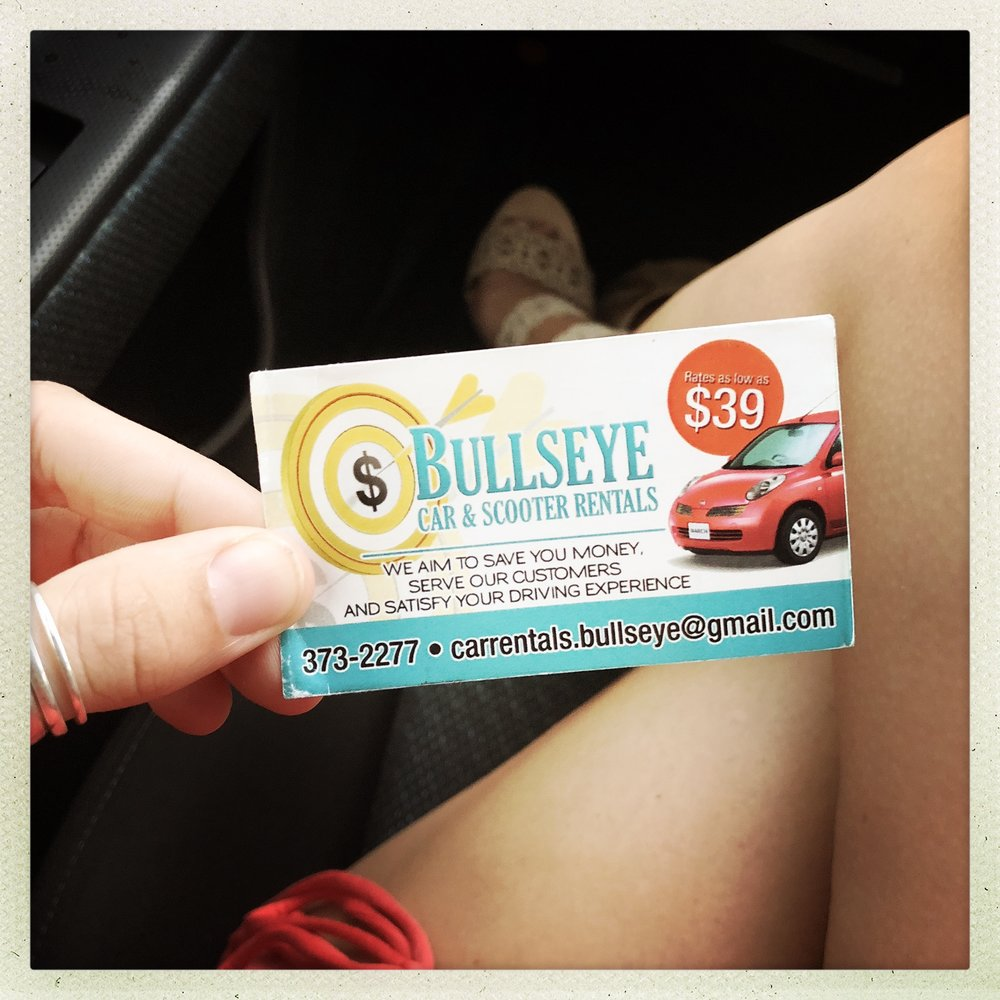 BULLSEYE CAR & SCOOTER RENTAL - GRAND BAHAMA ISLAND 242-373-2277carrentals.bullseye@gmail.com