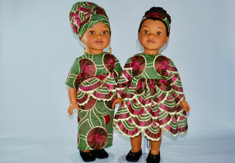 Global Beauties - Honea Rose Custom Couture Dolls