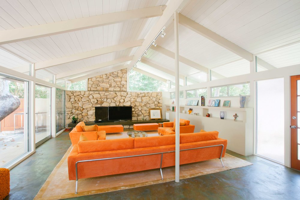 Mandeville contemporary living room