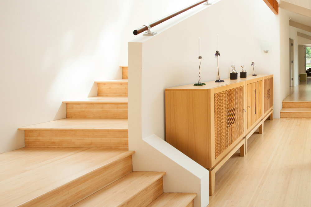 Mandeville contemporary staircase