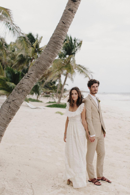 Kate & David<br><b>Tulum, Mexico</b>